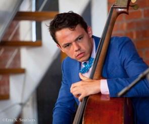 Paul Sikivie, Aaron Diehl Trio. Bow tie made by Island Sewn from Jamestown, Rhode Island. http://islandsewn.com/