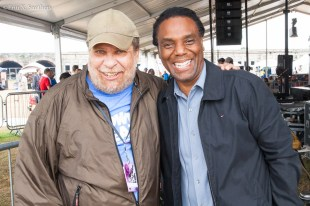 Yoron Israel with Eric Jackson from WGBH and Follow the Soul Trane.