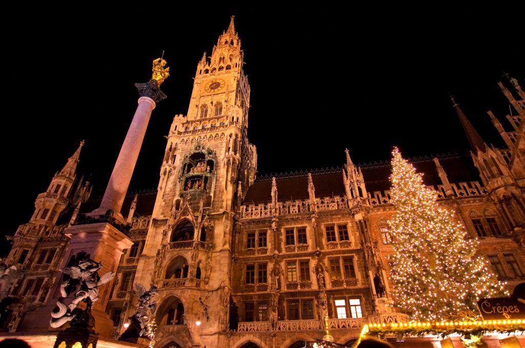 jarmarki bożonarodzeniowe w niemczech - jarmarki świąteczne - Monachium