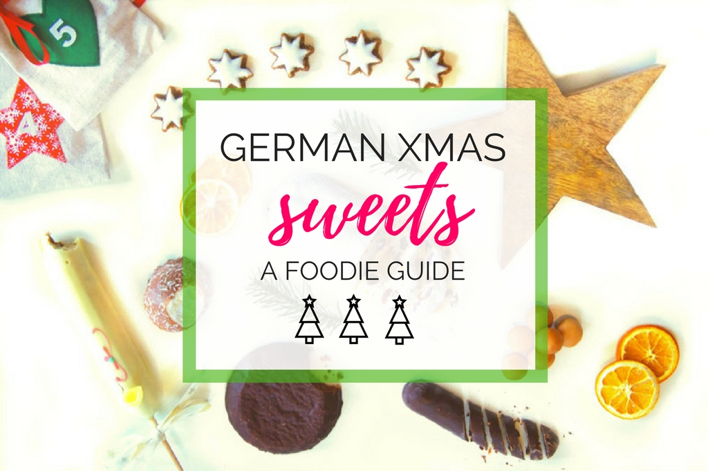German Christmas food - delicious sweet treats!