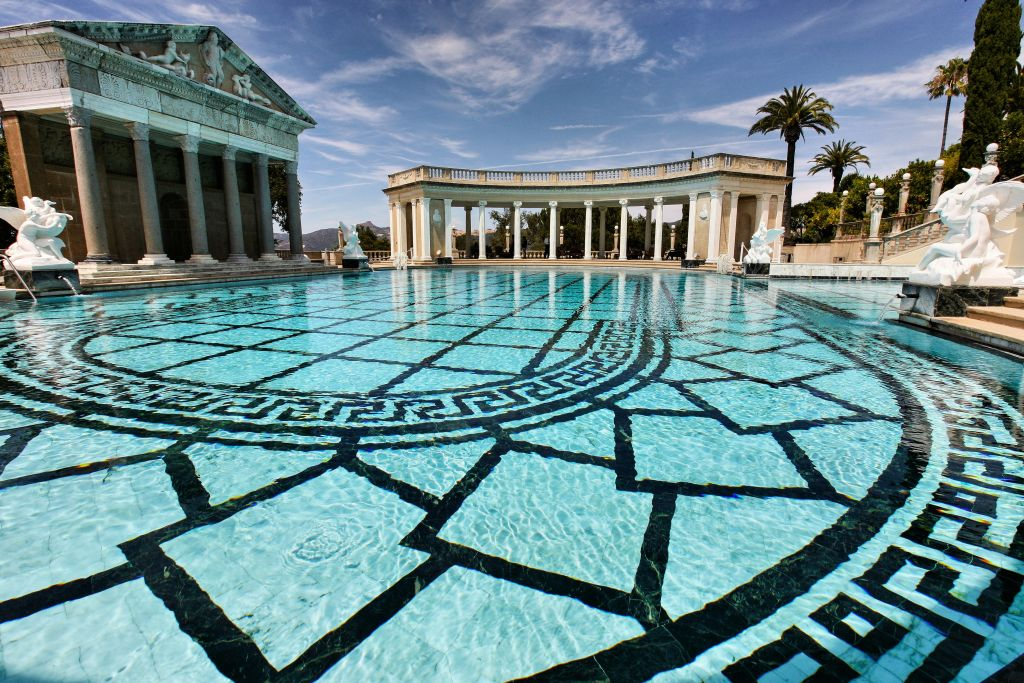 pacific coast highway atrakcje - hearst castle