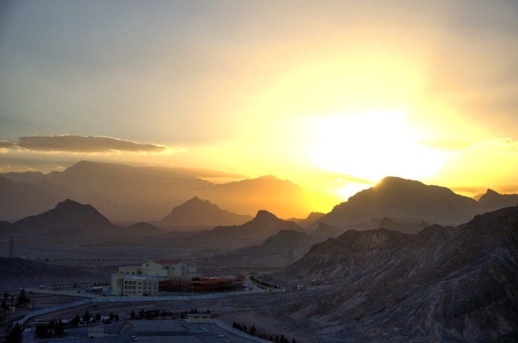 things to do in yazd iran - yazd attractions - yazd guide - sunset in yazd