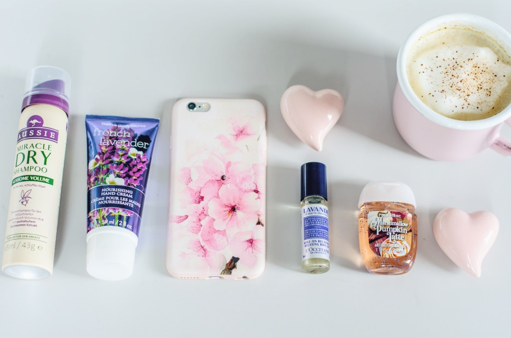long-haul flight essentials - cosmetics