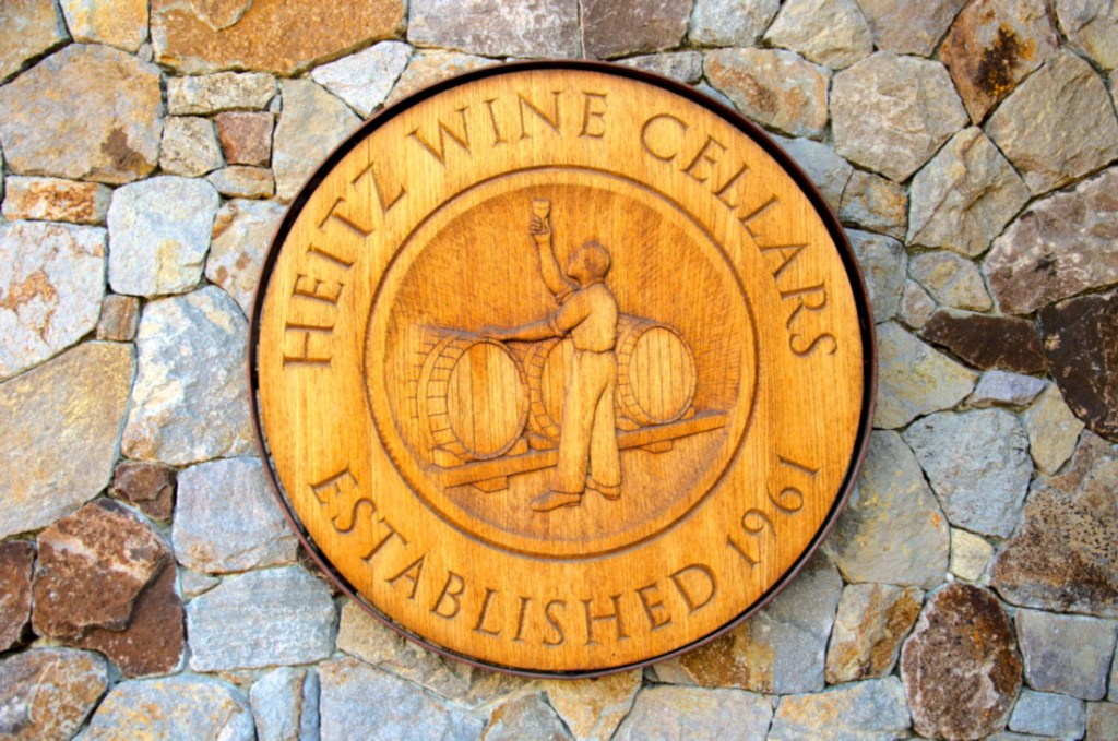 wine tasting in Napa Valley - Heitz Wine Cellars