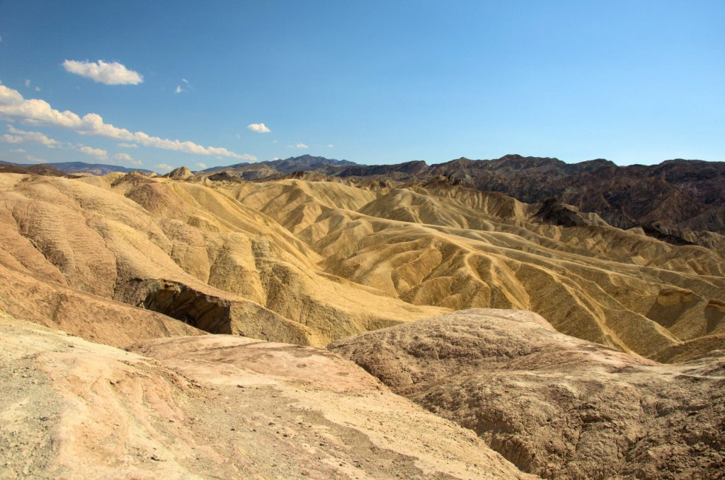 Different view of the Zabriskie Point