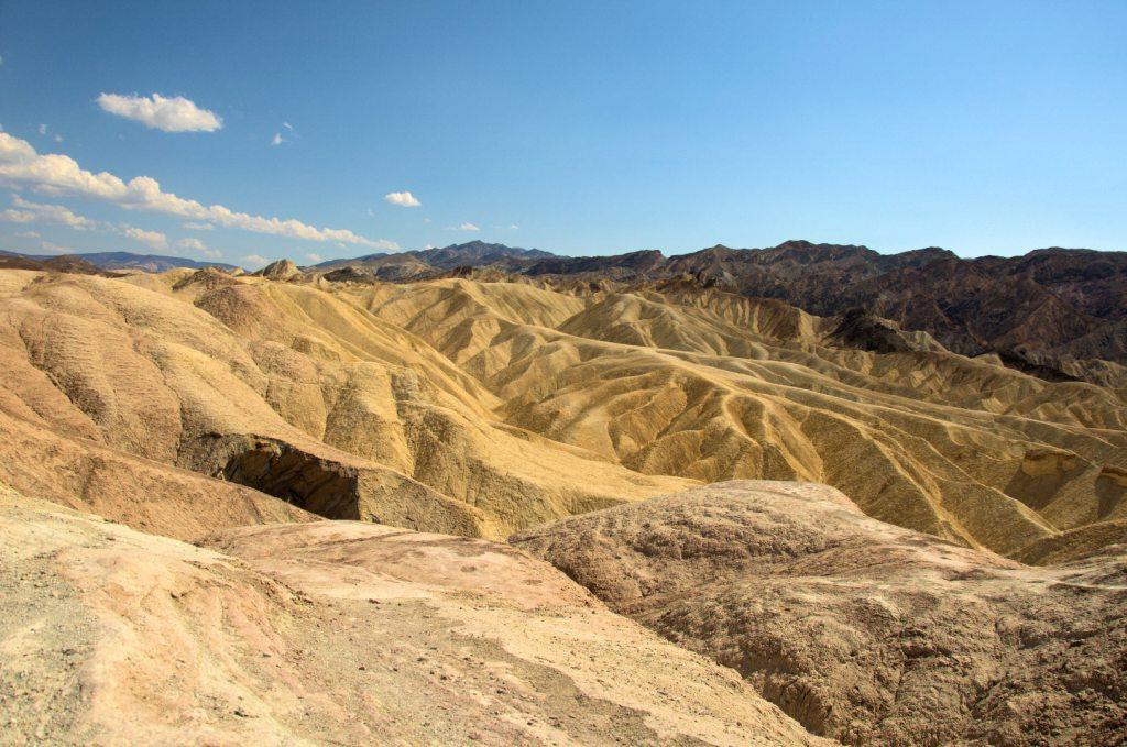 Park Narodowy Doliny Śmierci - Zabriskie Point w Dolinie Śmierci
