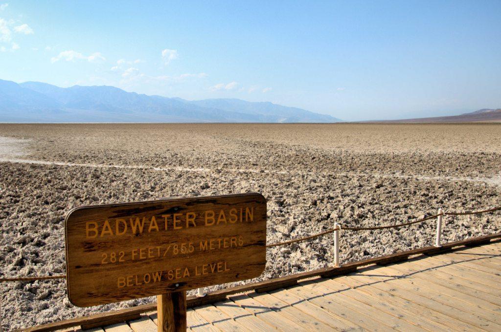 Park Narodowy Doliny Śmierci - Badwater Basin