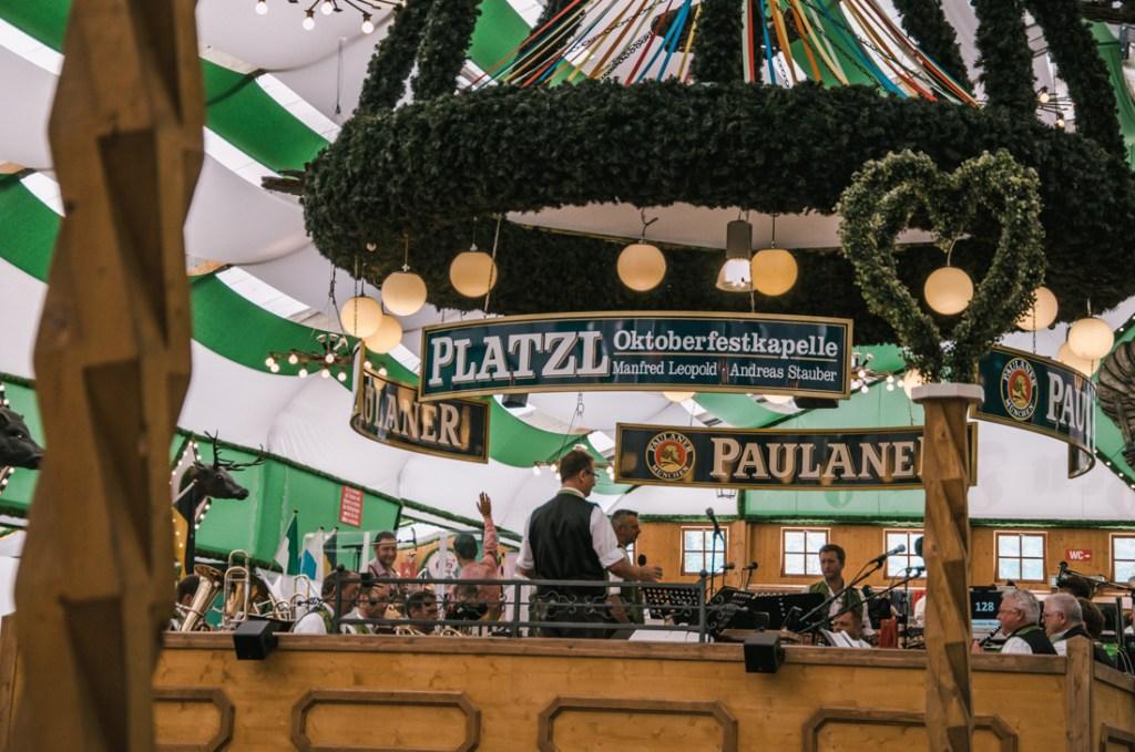 muzyka na żywo Oktoberfest