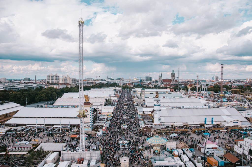 Oktoberfest from the above