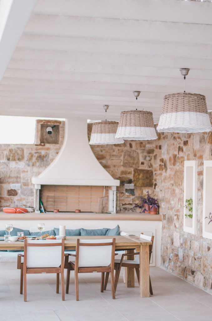 Naxos Rock Villas - BBQ