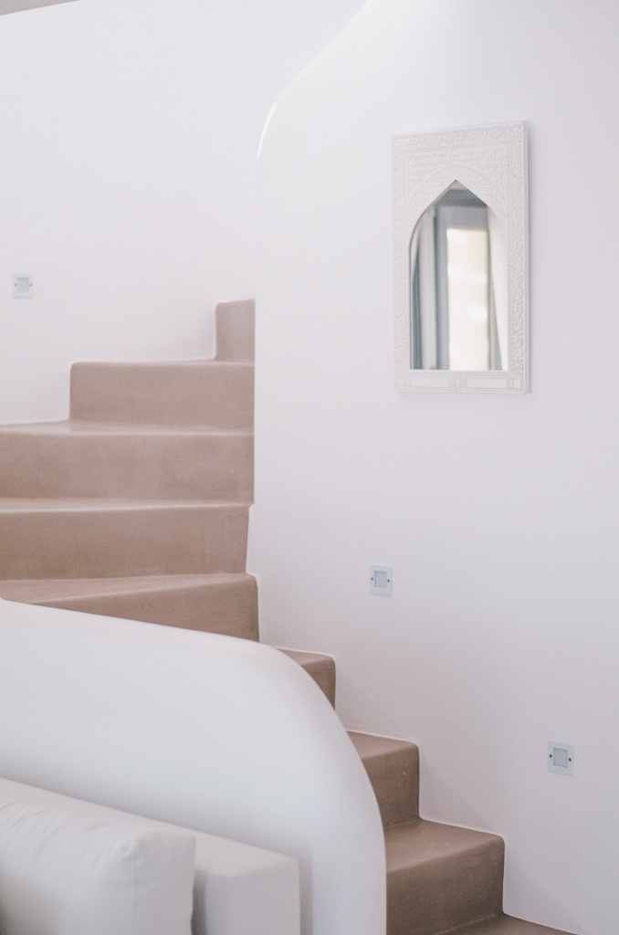 Naxos Rock Villas - stairs