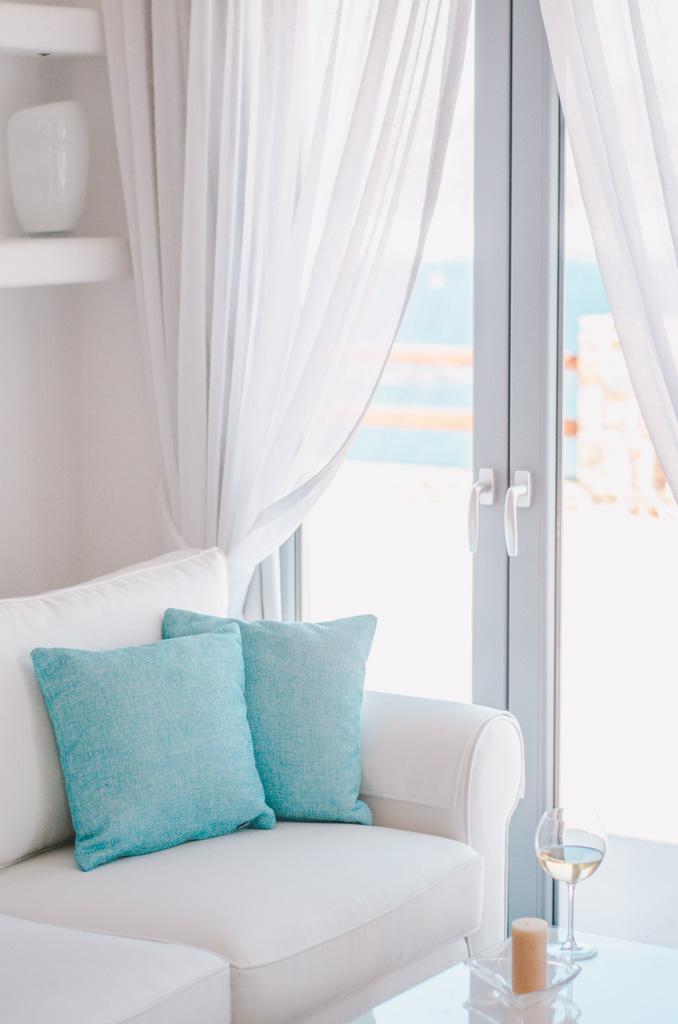 Naxos Rock Villas - salon