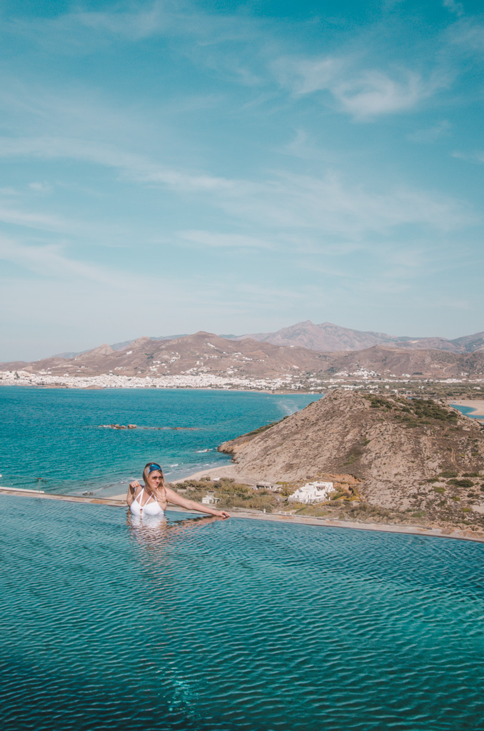 Naxos Rock Villas - basen