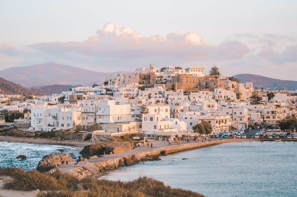 things to do in naxos - main town