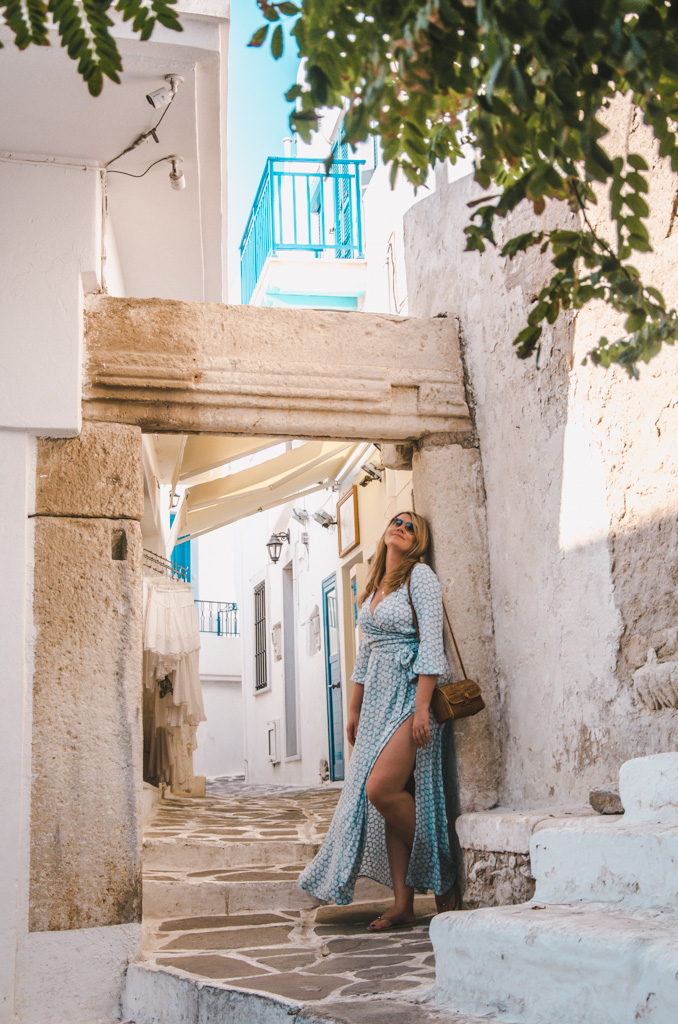 things to do in naxos - streets of chora
