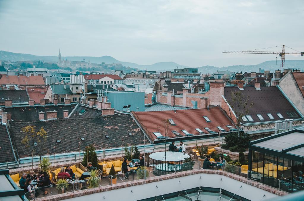 najlepszy hotel na świecie - widok z dachu Aria Hotel