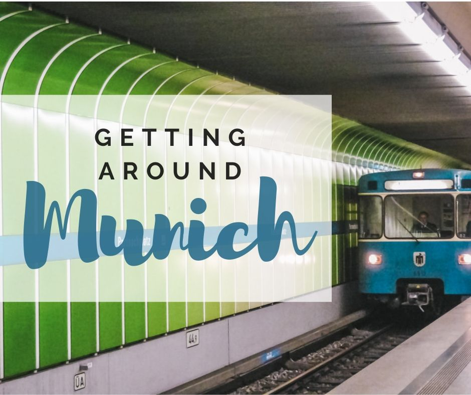 getting around munich - munich public transport - how to get to city from the Munich airport