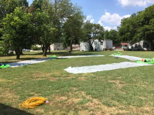 Slip N Slide Kickball