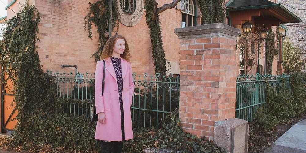 Lorelei Gilmore Pink Coat