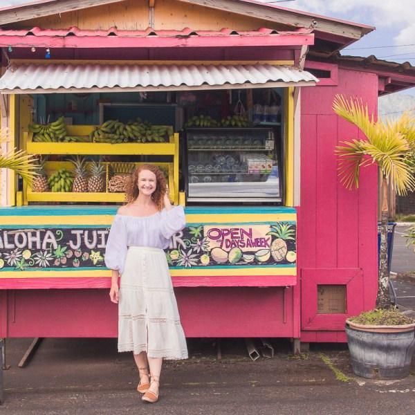 Kauai juice stands
