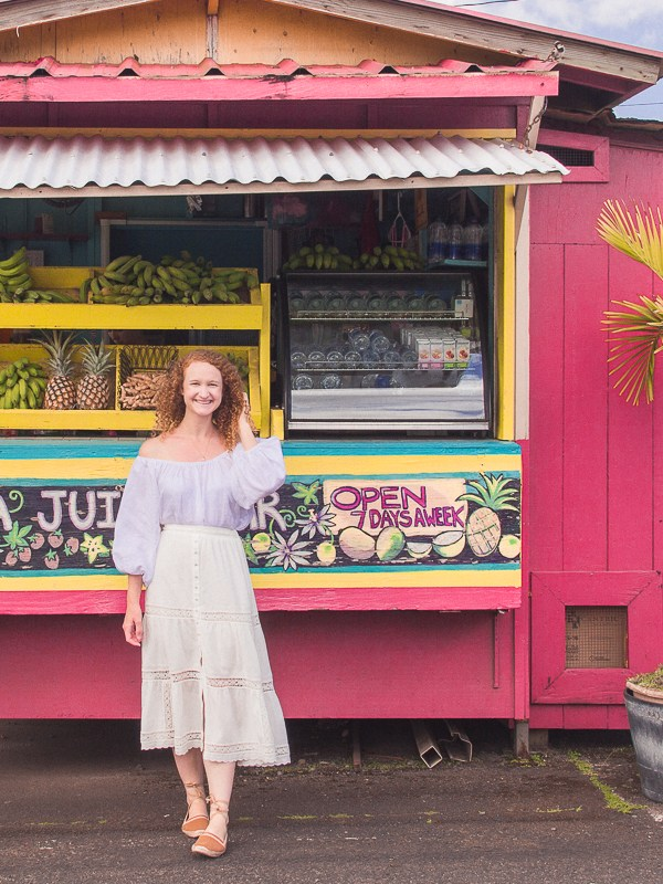 4 Must Try Kauai Juice Stands