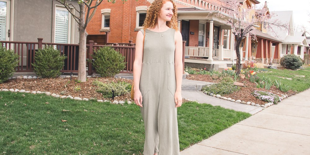 Back Beat Rags Hemp Jumpsuit