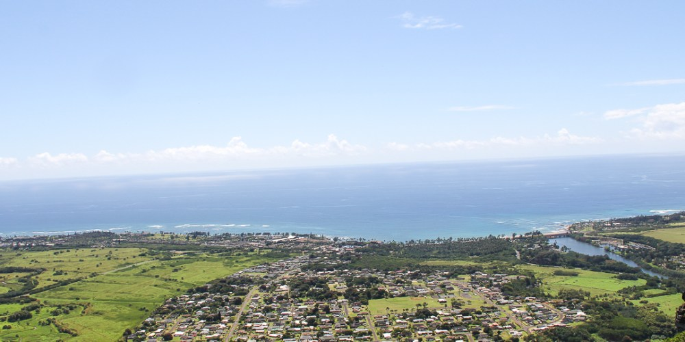 The Sleeping Giant trail Kauai