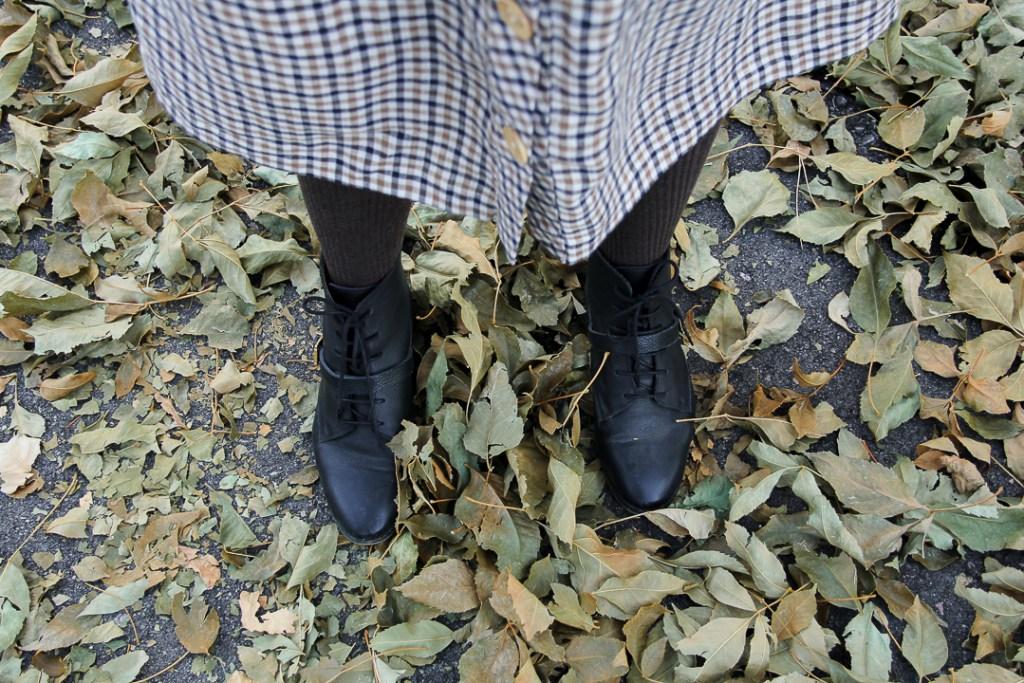 Parisian autumn style