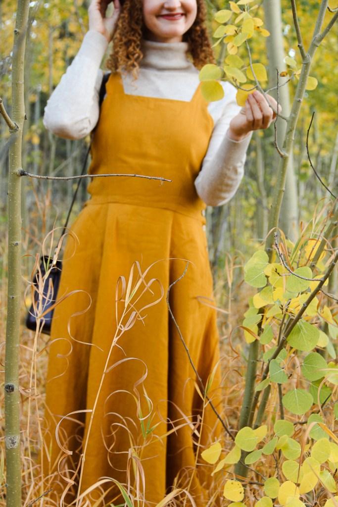 Son de Flor Pinafore Dress