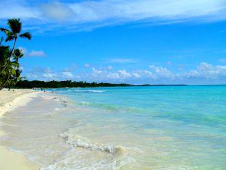 Strand auf Saona Island, Domrep
