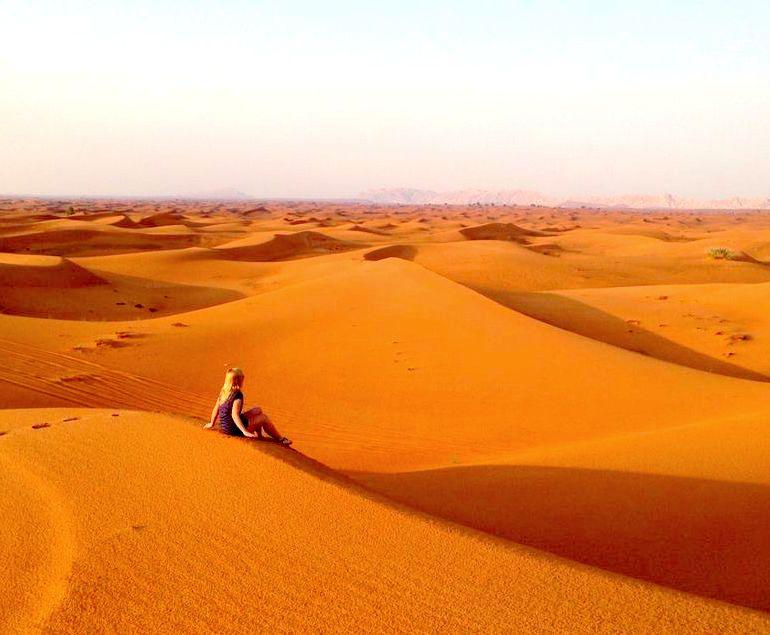 Wüste in Dubai, VAE