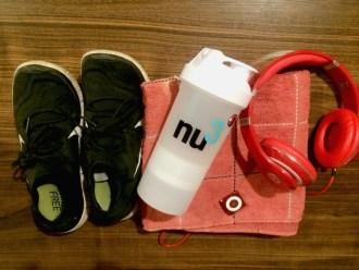 Sportsachen zu Hause, Training