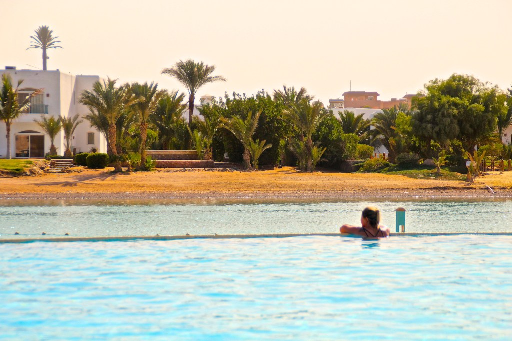 Pool im Mövenpick El Gouna Resort