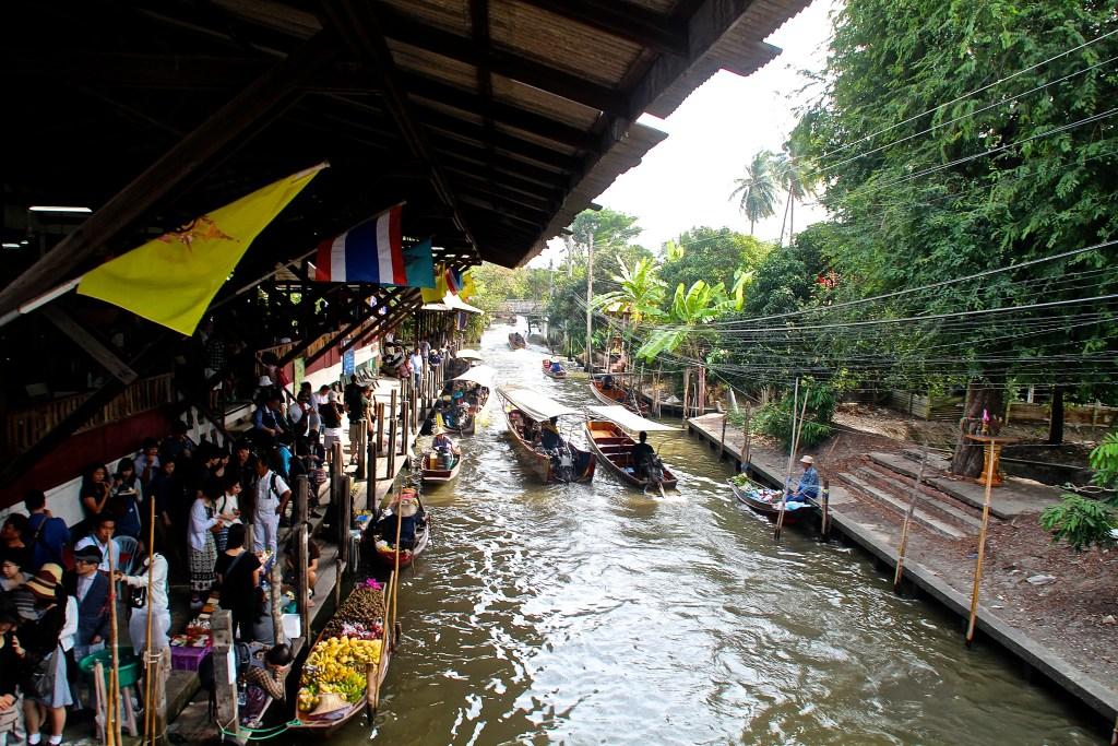 Schwimmender Markt, Thailand