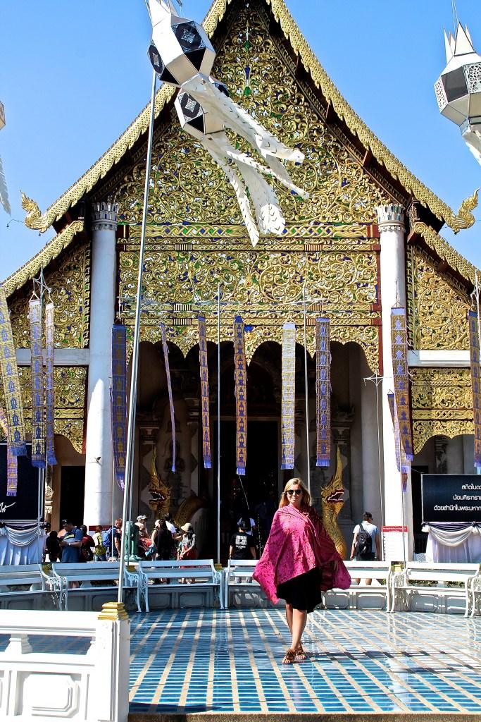 Wat Singh in Chiang Mai Tempel in Thailand
