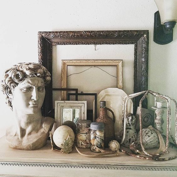 Brocante junk finds shabby chic rusty treasures and antique frames