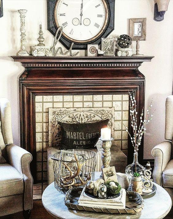 restoration hardware inspired living room decor