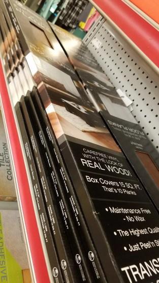 Nexus Peel and Stick Vinyl Flooring DIY Faux Shiplap