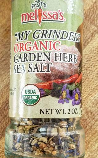 Delicious gf pasta salad herb mix Melissa's organic herbs