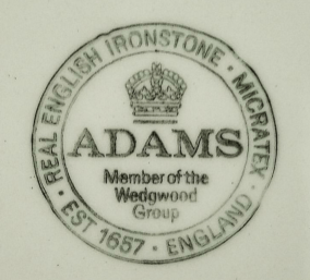 Adams Real English Ironstone Micratex Wedgwood Group Empress