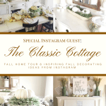 A Classic Cottage Beautiful Fall Home Tour at followtheyellowbrickhome.com