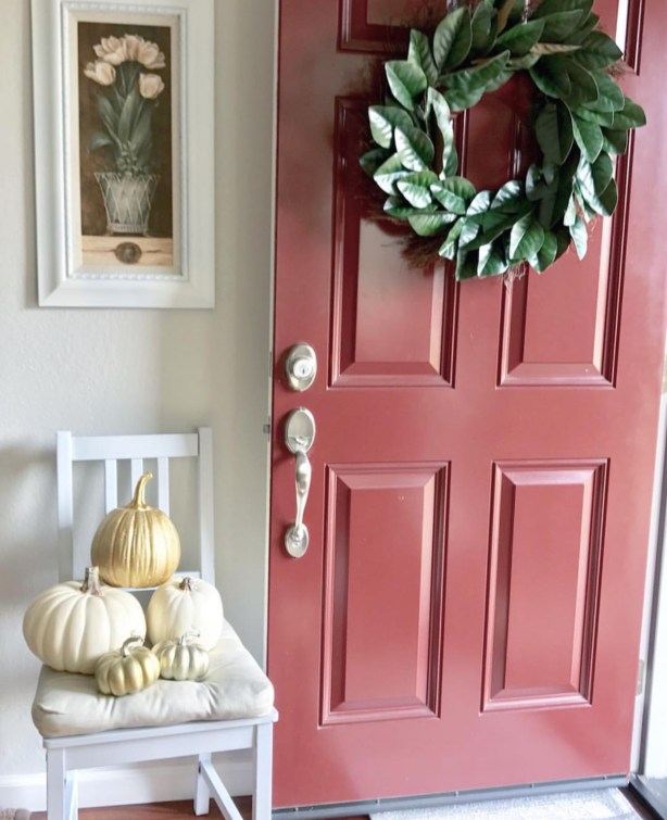 beautiful fall entry