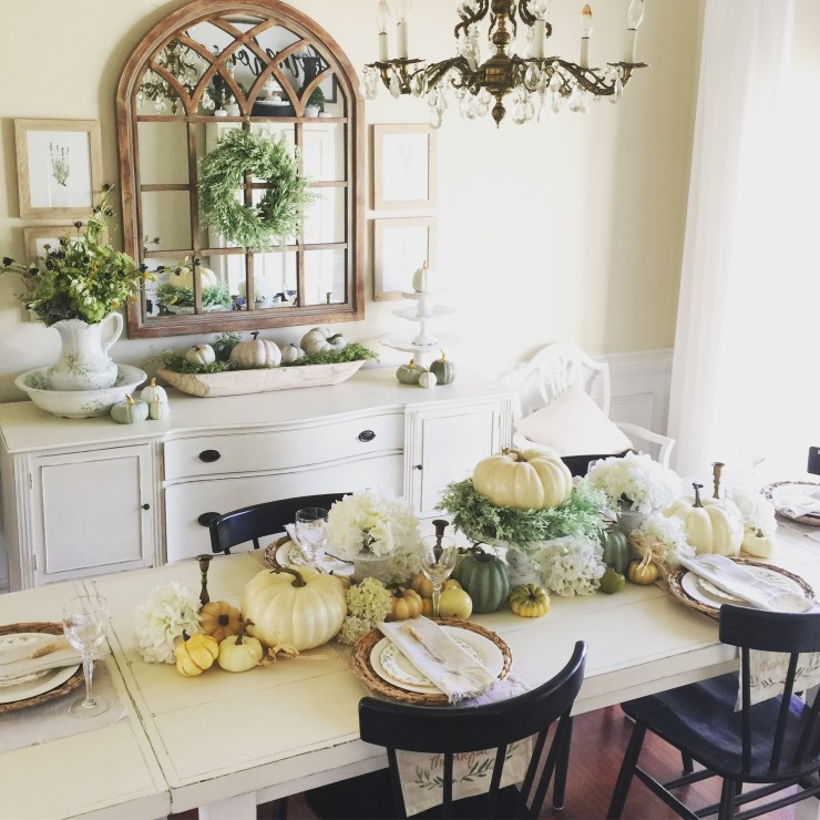Fall Decorating Ideas For The Dining Room: Follow The Yellow Brick Home