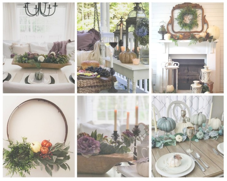 Beautiful falldecorating inspiration from Instagram