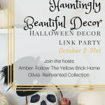 Hauntingly Beautiful Decor Halloween Link Party
