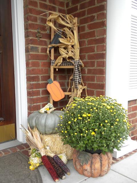 Fall Porch Decor 2013