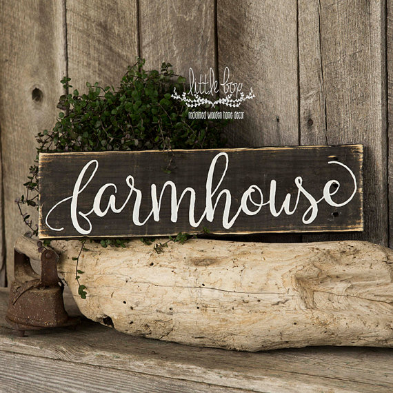 Cute Farmhouse Sign