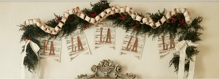 How to make a festive music banner for Christmas