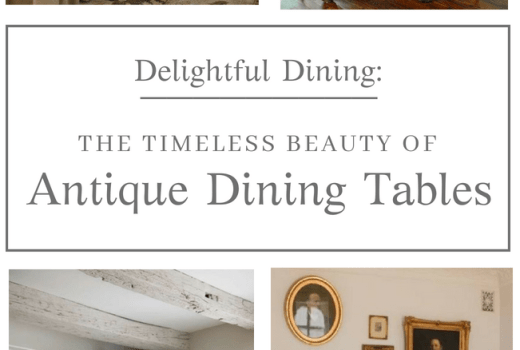 Beautiful Antique Dining Tables