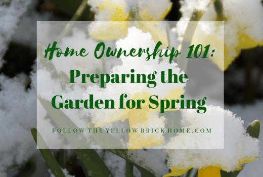 Preparing The Garden For Spring
